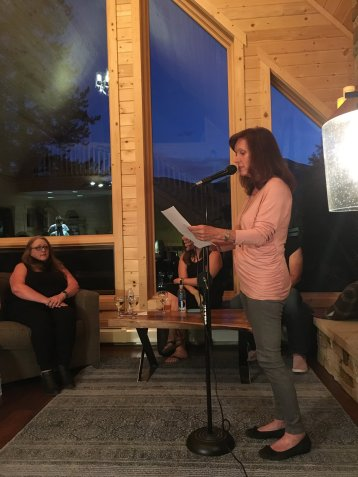 Jayne Martin reading