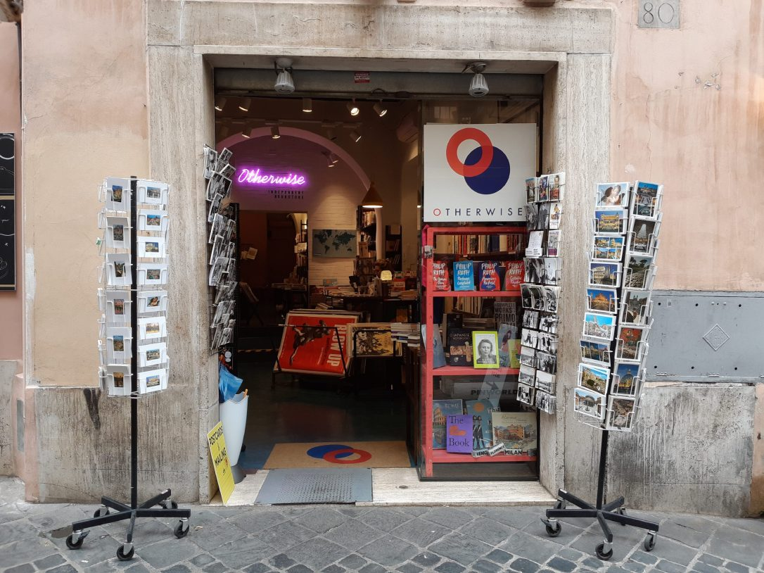 Outside Otherwise Bookshop.